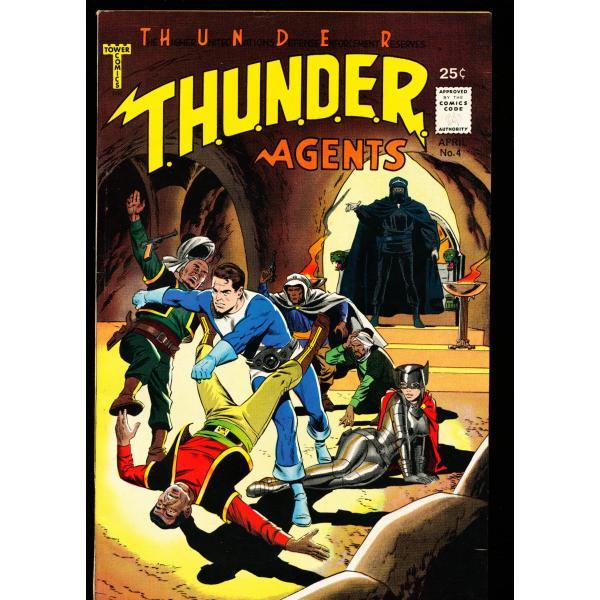 Thunder Agents #4 - 04/66 - Wally Wood - 8.0