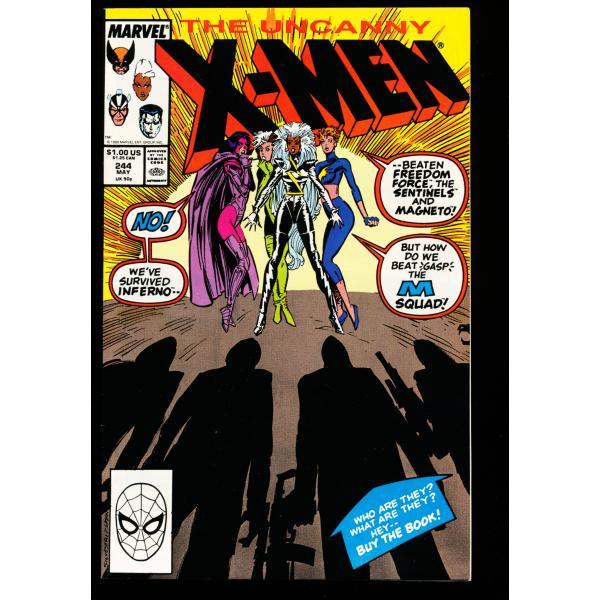 Uncanny X-Men - #244 - 9.2